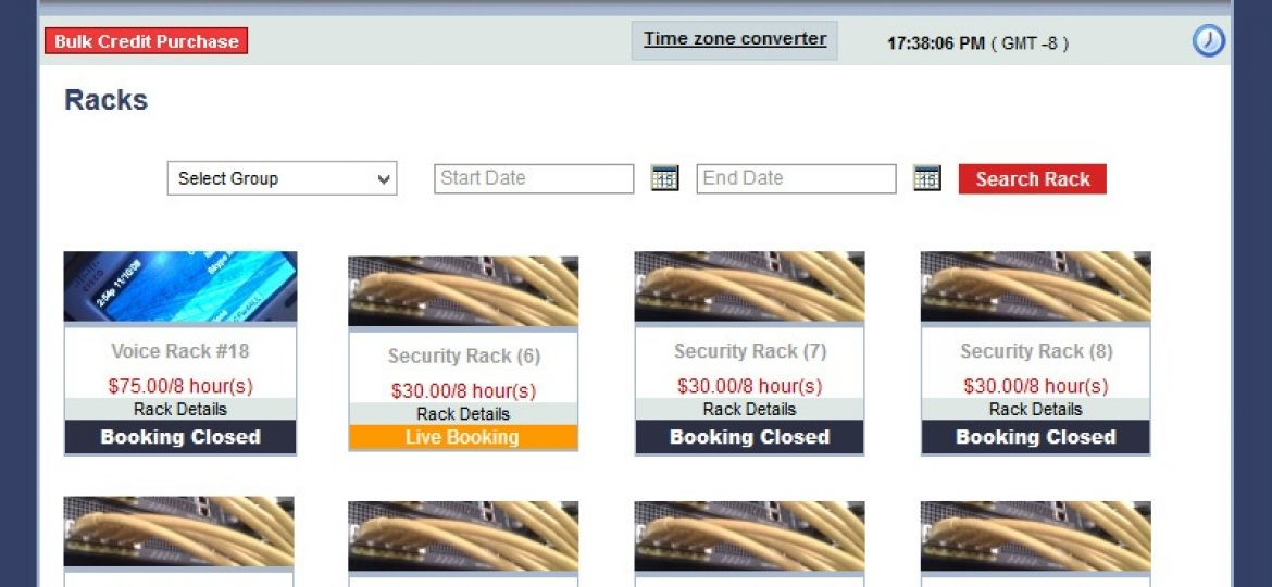 Online Reservation System Close the dialog